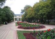 Отдых в Феодосии - сквер фонтан Доброму гению